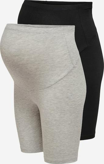 ONLY Pantalon 'Mama' en gris / noir, Vue avec produit