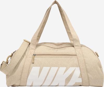 NIKE Športna torba 'GYM CLUB' | bež / bela barva, Prikaz izdelka