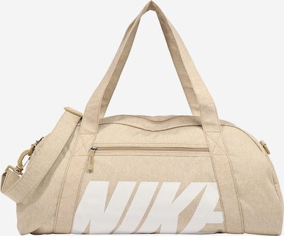 NIKE Športová taška 'GYM CLUB' - béžová / biela, Produkt