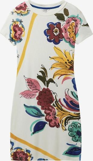 Desigual Robe d'été 'ALIFORNIA' en mélange de couleurs / blanc, Vue avec produit