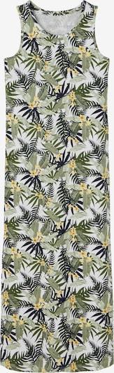 NAME IT Jurk 'Josephine' in de kleur Geel / Pastelgroen / Donkergroen / Zwart / Wit, Productweergave