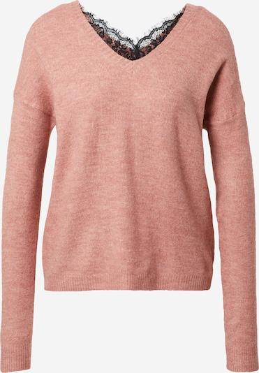 VERO MODA Pullover  'RANA' in rosa / schwarz, Produktansicht