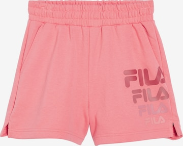 FILA Shorts 'Pauleen' in Pink