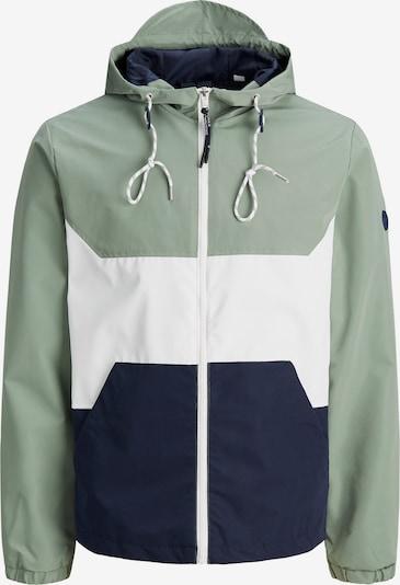 Giacca di mezza stagione 'ORIGINALS LUKE' JACK & JONES di colore navy / verde pastello / bianco, Visualizzazione prodotti