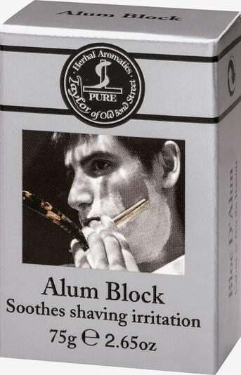 Taylor of Old Bond Street After Shave 'Alum Block' in grau / schwarz / weiß, Produktansicht