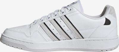 ADIDAS ORIGINALS Baskets basses 'NY 90' en gris clair / noir / blanc, Vue avec produit