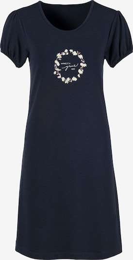 s.Oliver Nightgown in Night blue / Yellow / White, Item view
