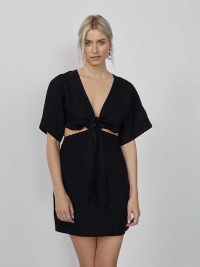 LeGer by Lena Gercke Robe 'Alia' en noir, Vue avec modèle