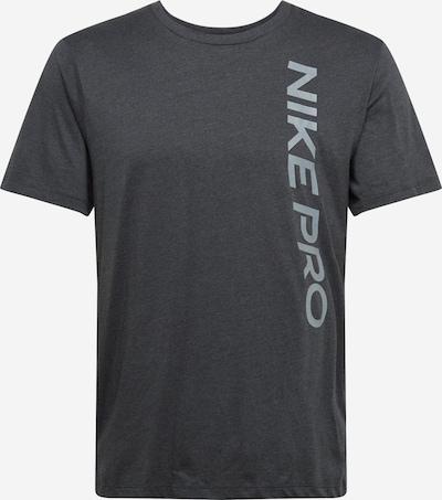 NIKE Shirt in grau / schwarz, Produktansicht