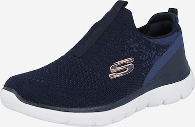 SKECHERS Slip On in navy / grau, Produktansicht