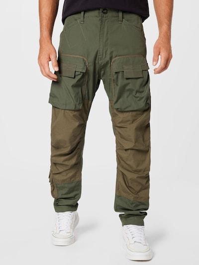 G-Star RAW Cargohose in oliv / dunkelgrün, Modelansicht