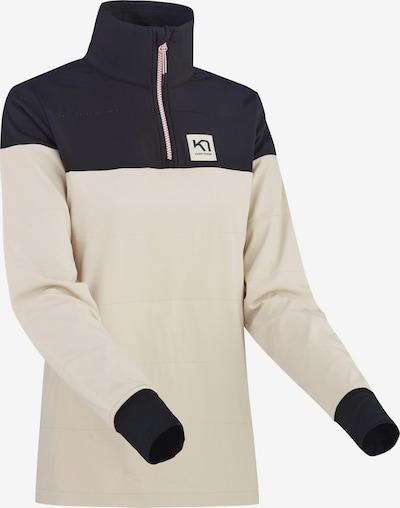 Kari Traa Funktionsshirt 'SIRI' in beige / dunkelblau, Produktansicht