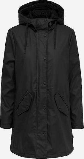 ONLY Carmakoma Regenjacke in schwarz, Produktansicht