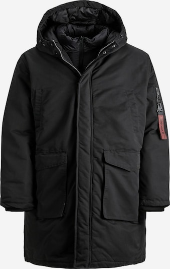 JACK & JONES Winterparka in de kleur Zwart, Productweergave