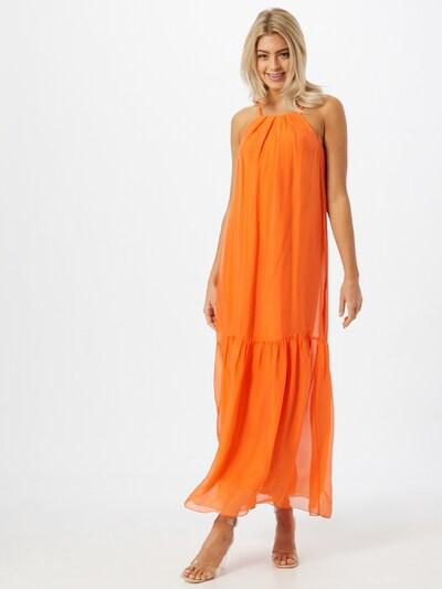 FRNCH PARIS Kleid in dunkelorange, Modelansicht