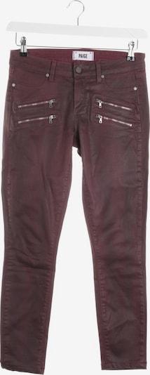 PAIGE Jeans in 28 in bordeaux, Produktansicht