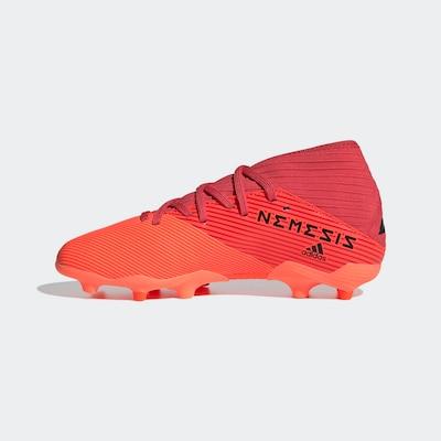 ADIDAS PERFORMANCE Fußballschuh  'Nemeziz 19.3 FG' in orange / schwarz, Produktansicht