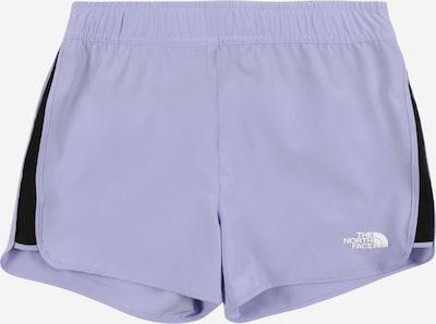 THE NORTH FACE Shorts in lavendel / schwarz, Produktansicht