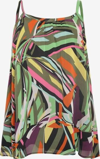 Yoek Top ' Colours ' in de kleur Gemengde kleuren, Productweergave