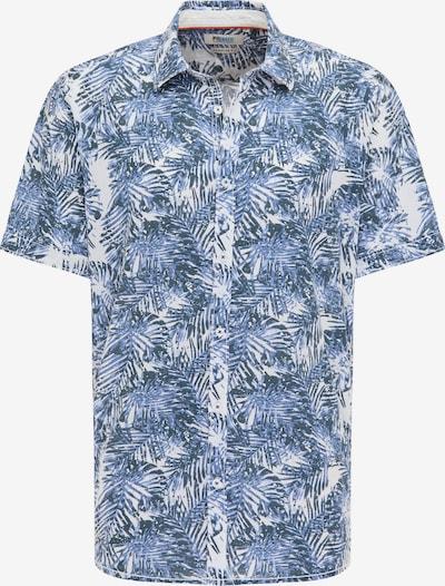 PIONEER Hemd in blau / weiß, Produktansicht