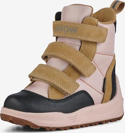WODEN Snowboots 'Adrian' in hellbraun / rosa / schwarz, Produktansicht