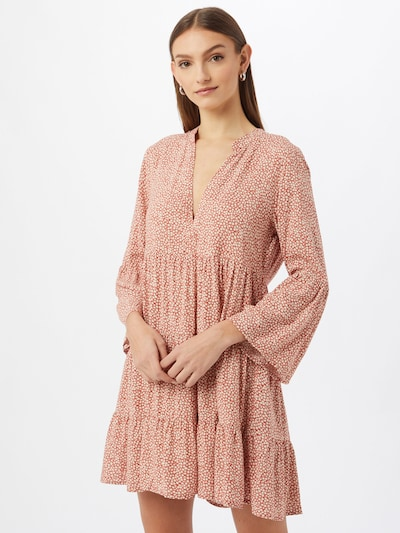 JDY Kleid 'STARR LIFE' in rot / weiß, Modelansicht