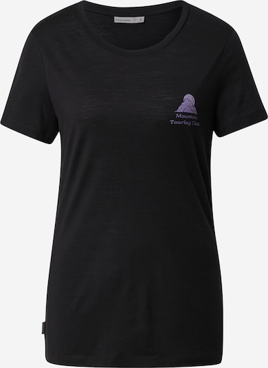 ICEBREAKER Performance Shirt 'Touring Club' in Lilac / Black, Item view
