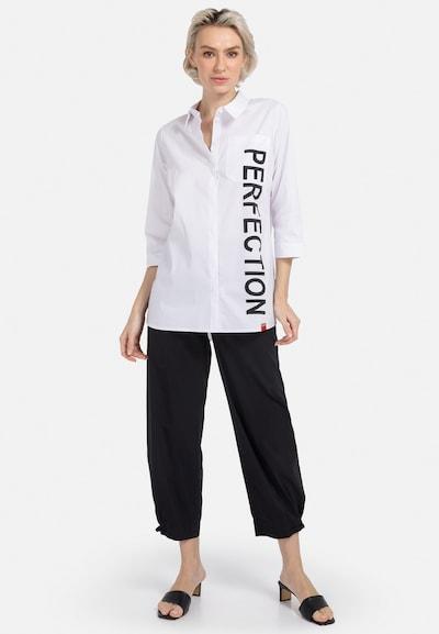 HELMIDGE Bluse in schwarz / weiß, Modelansicht