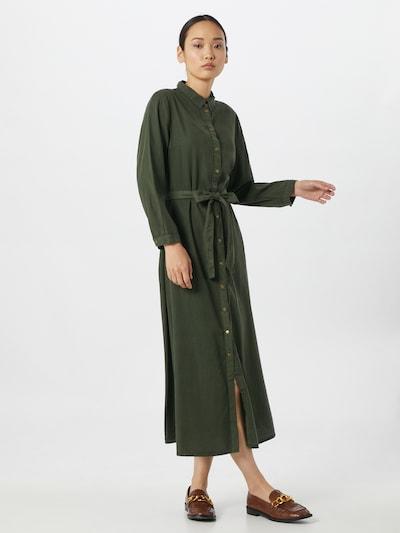 PIECES Kleid in grün, Modelansicht