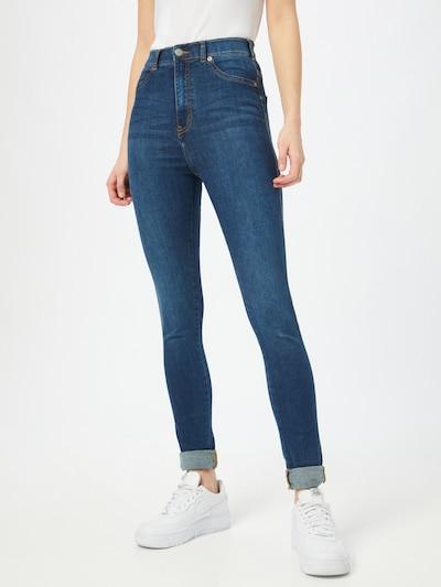 Dr. Denim Jeans 'Solitaire' in de kleur Donkerblauw, Modelweergave