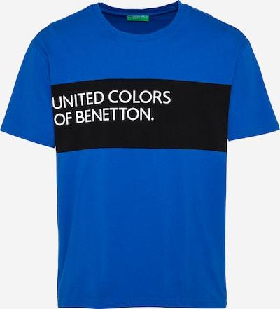 UNITED COLORS OF BENETTON T-Shirt in navy / schwarz / weiß, Produktansicht