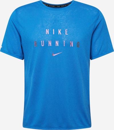 NIKE Sportshirt in royalblau / silber, Produktansicht