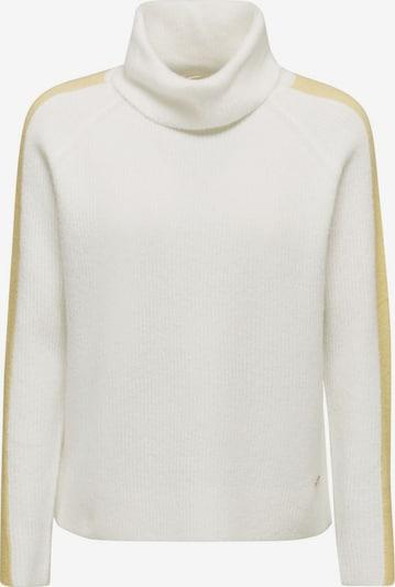 ESPRIT Pullover in gelb / offwhite, Produktansicht