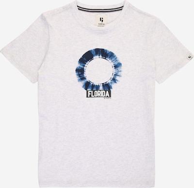 """Marškinėliai iš GARCIA, spalva – tamsiai mėlyna / sodri mėlyna (""""karališka"""") / tamsiai pilka / margai balta, Prekių apžvalga"""