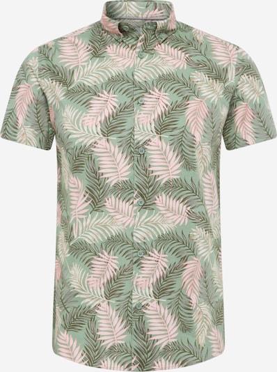 !Solid Hemd in khaki / oliv / pastellpink, Produktansicht