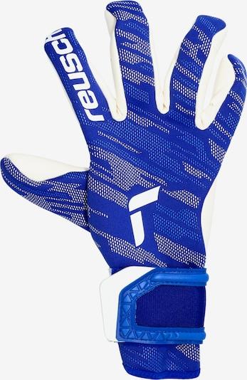 KEEPERsport Sporthandschuhe in kobaltblau / weiß, Produktansicht