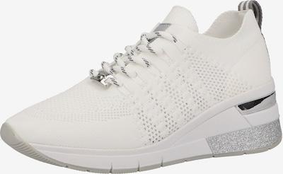 TOM TAILOR Sneaker in grau / silber / weiß, Produktansicht