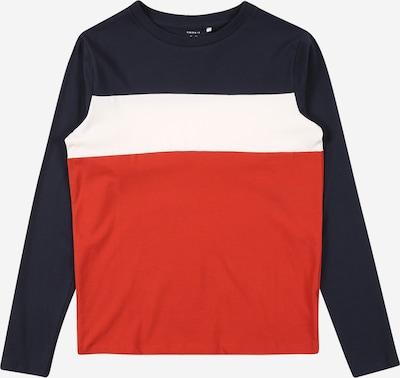 NAME IT Shirt in blau / rot / weiß, Produktansicht
