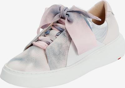 LLOYD Sneaker in mischfarben / rosa / altrosa / weiß: Frontalansicht