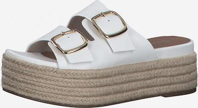 TAMARIS Pantofle - bílá, Produkt
