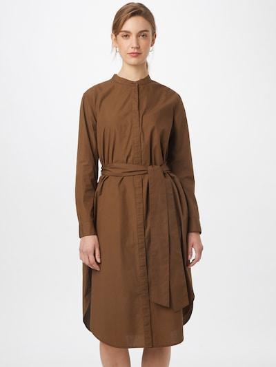 Banana Republic Košeľové šaty - hnedá: Pohľad spredu