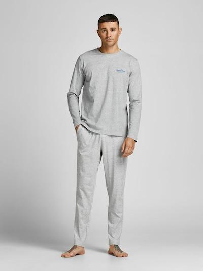 JACK & JONES Loungewear in blau / graumeliert, Modelansicht