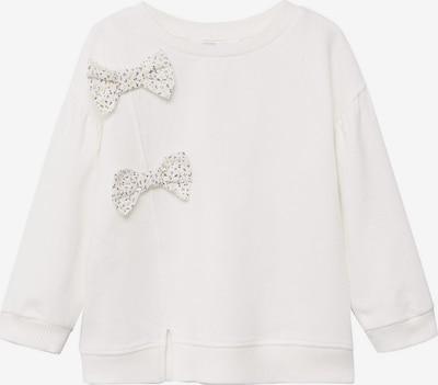 MANGO KIDS Sweatshirt 'Alba' in braun / gelb / weiß, Produktansicht