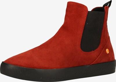Softinos Chelsea boots in de kleur Rood / Zwart, Productweergave