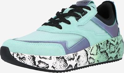 REPLAY Sneaker 'SIERRA' in aqua / schwarz, Produktansicht