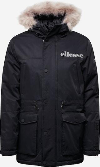 ELLESSE Zimní bunda - černá: Pohled zepředu