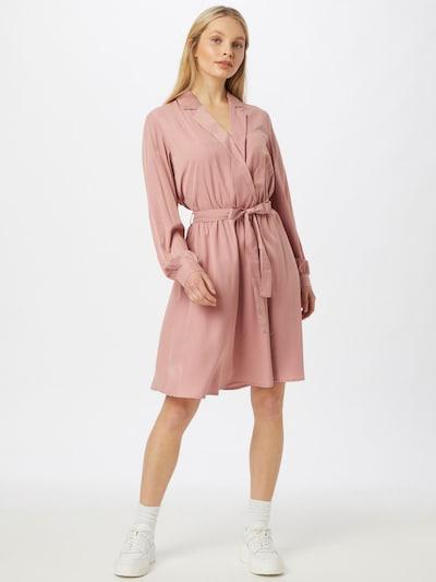 MOSS COPENHAGEN Košilové šaty 'Nille' - růžová, Model/ka