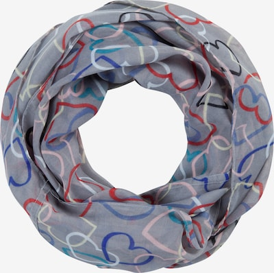 CODELLO Loop scarf in Grey / Mixed colours, Item view