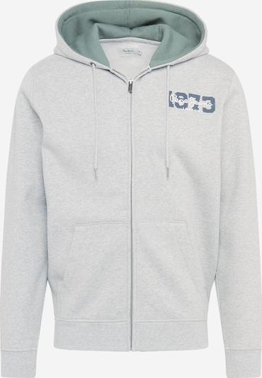 Hanorac 'HERMAN' Pepe Jeans pe albastru închis / gri amestecat / smarald / alb, Vizualizare produs