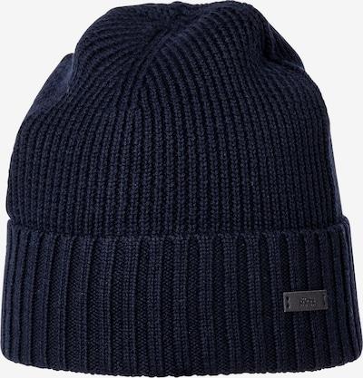 BOSS Casual Bonnet en bleu marine, Vue avec produit